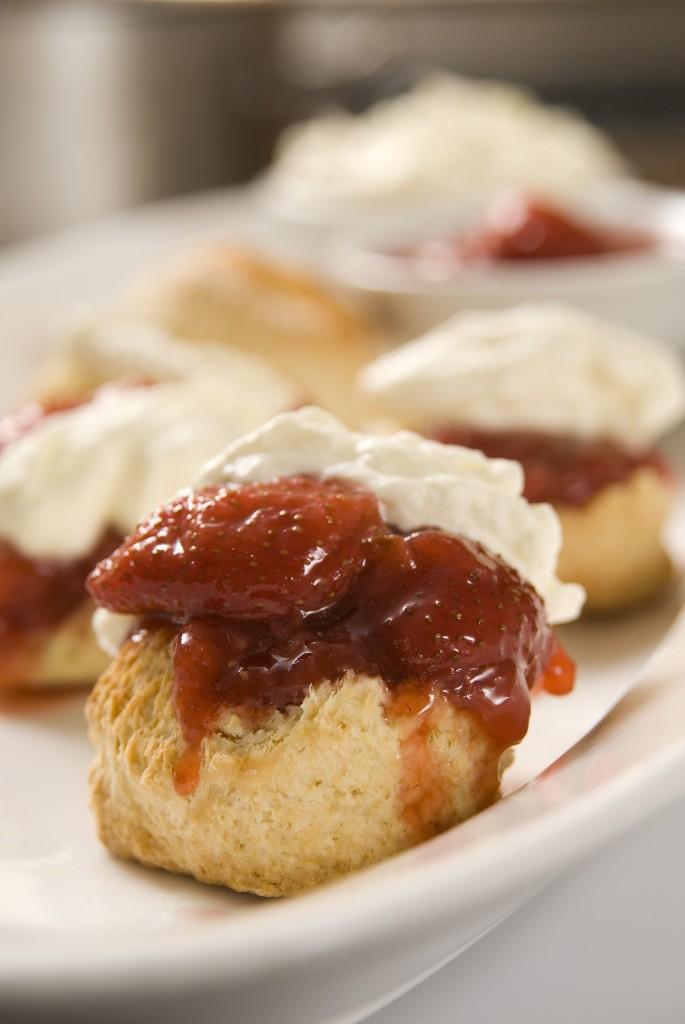 Strawberry Jam and scones