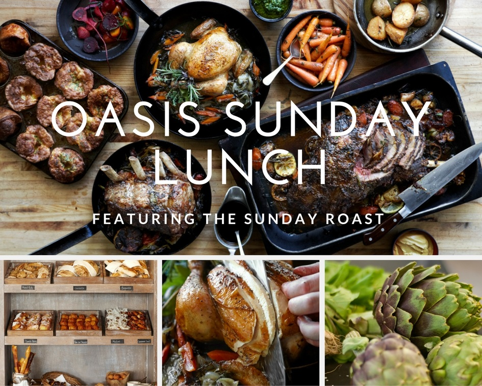 Oasis Sunday Lunch